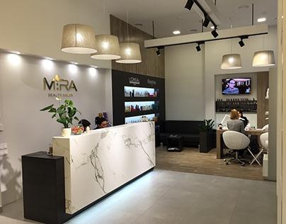 MIRA. beauty salon. 2015. Kyiv. Ukraine. салон красоты