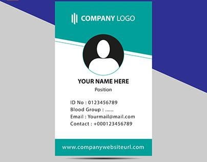 Identity Card Design Template