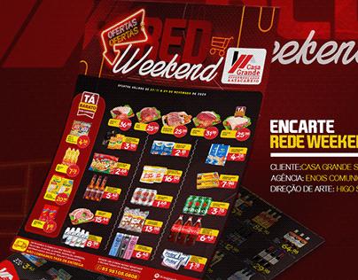 Encarte Red Weekend