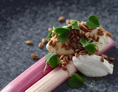 Braised Rhubarb – Food Photography & Styling