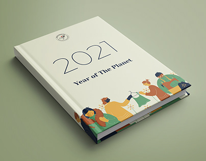 2021 - Year of The Planet | Diary Kit