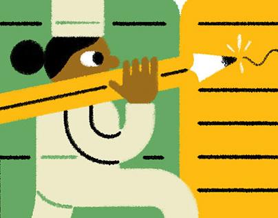 Feed - Website Illustrations