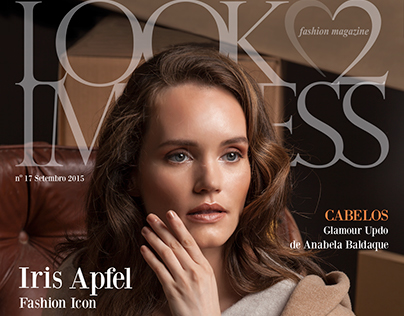 Cover & Editorial Fall in Brown for Look2Impress #17