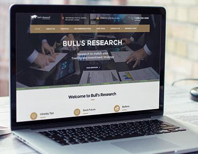 Stock Investment Website