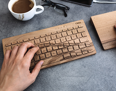 Orée Board - How we craft wooden keyboards
