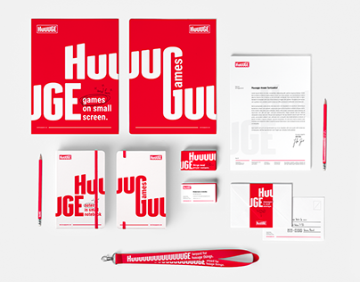Huuuge Games - Branding & web design