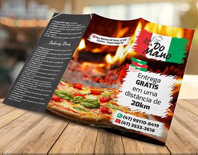 Cardápio - Disk Pizza do Mano