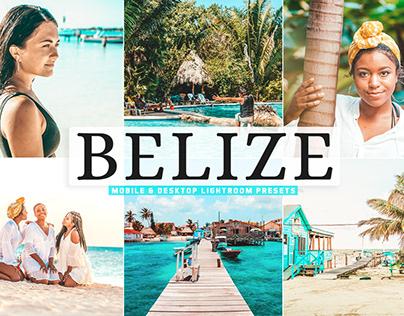 Free Belize Mobile & Desktop Lightroom Presets
