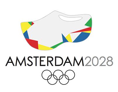 Logo design for 2028 bidding country - Amsterdam