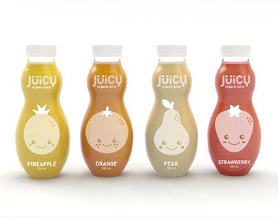 Jüicy. Organic juices for kids