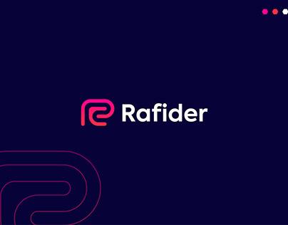 Rafider Logo design - Modern R letter Logo - unused