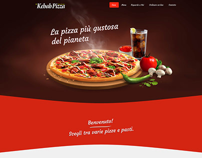 Mr Kebab Pizza Web Design