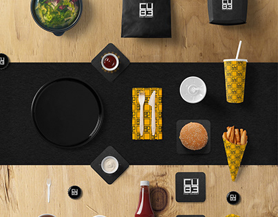 Cube - Food Gourmet (Advertising/Branding)