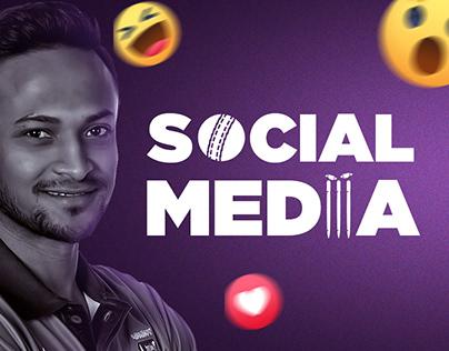 Social Media - Shakib Al Hasan