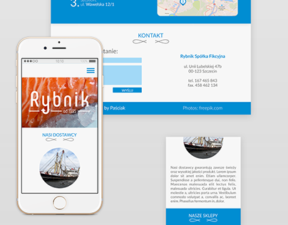 Rybnik - one page