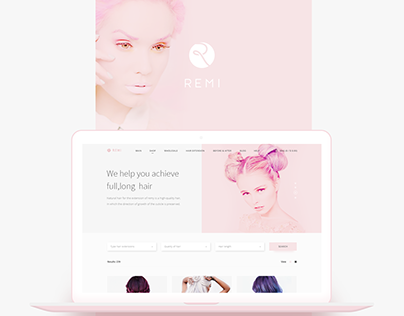 Remi: webshop for beauty industry