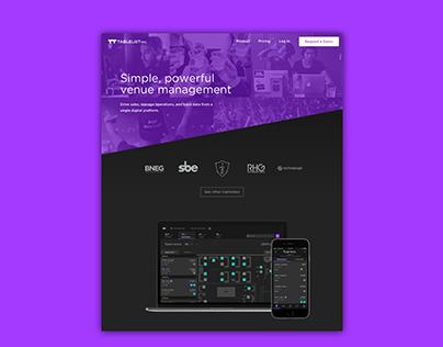 TablelistPro website redesign 2019