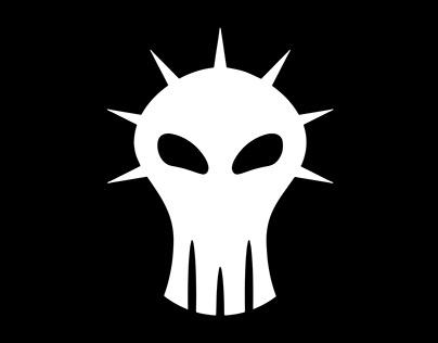 White hacker logo