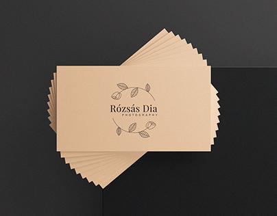 Photographer / Logo & business card