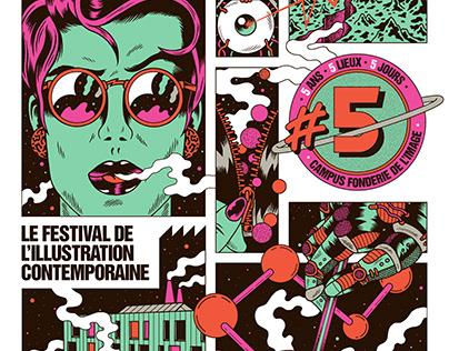 LES PUCES DE L'ILLU x Poster