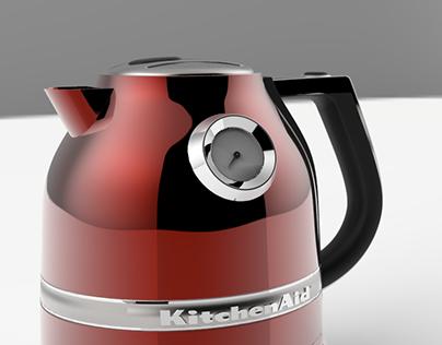 3D Chaleira Elétrica KitchenAid