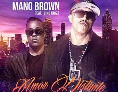 "Capa single ""Amor Distante"" Mano Brown feat Lino Krizz"