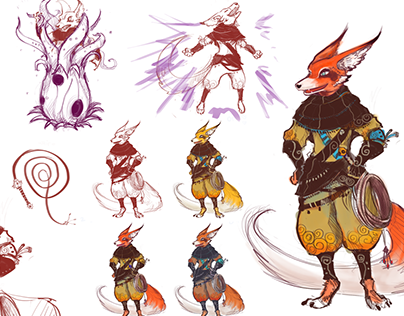 Taptiles Saga Characters