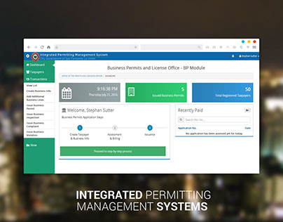Integrated Permitting Management Systems