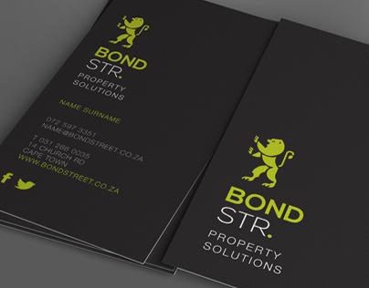 Bond Street Logo and CI Design