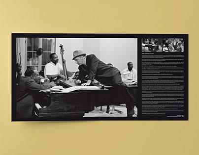 LP Music Artwork Design - Frank Sinatra-Count Basie