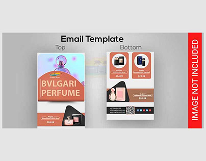 Free Perfume Email Template PSD