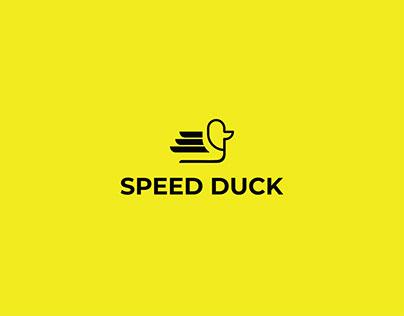 Speed Duck Logo Design