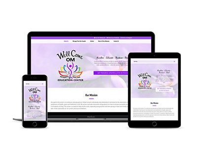 Holistic & Integrated Healing Center Website Design