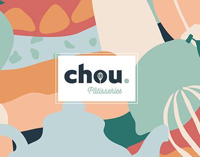 CHOU. - Pastry branding