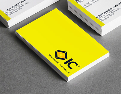 IC2 Development Corporation Logo, Stationary & Branding