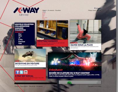 Kway Rebranding