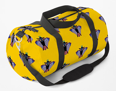 Backpacks and duffle bags pattern (Redbubble)