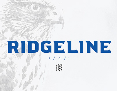 RIDGELINE 201 - FREE DISPLAY FONT