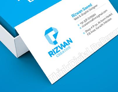 Rizwan - Think Digital. Be Personal.