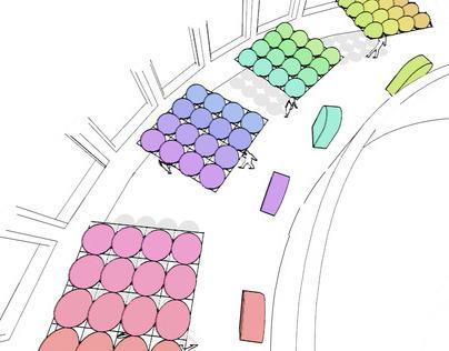 JUKE BOX! preliminary drawings [2009]