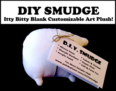 DIY Smudge: Itty Bitty Customizable Plush Monster