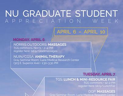NU Graduate Student Appreciation Week