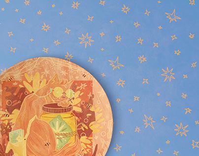 AUTUMN FOREST_decorative plates