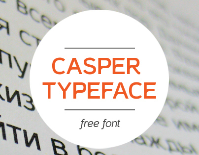 Casper Font Download