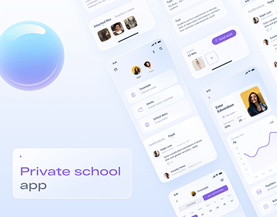 Private school app