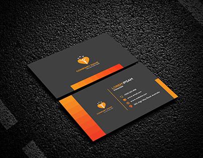 Corporate, Unique, Creative, Business Card design