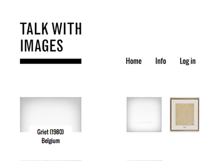 Talk with images | WEBSITE