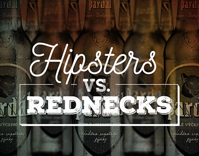 PARDÁL beer - hipsters vs. rednecks