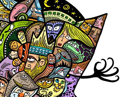 Doodle Monster for Wacom Website