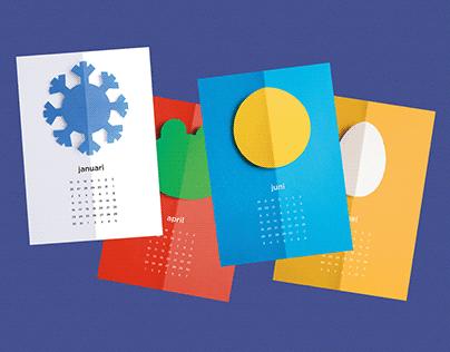 Ontwerp kalender